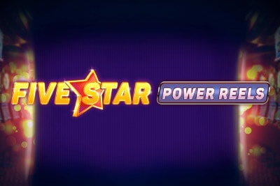 Five Star Power Reels Mobile Slot Logo