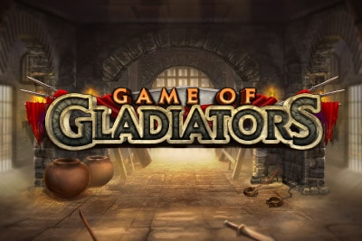 Game of Gladiators Mobile Slot Logo