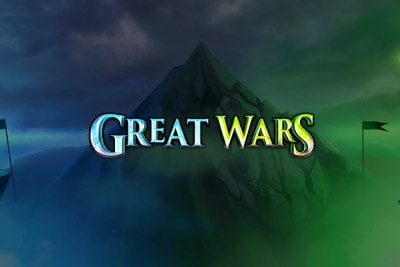 Great Wars Mobile Slot Logo