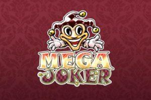 Mega Joker Mobile Slot Logo
