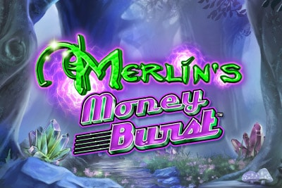 Merlins Money Burst Mobile Slot Logo