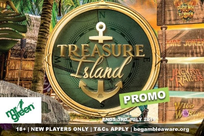 Mr Green Mobile Casino Treasure Island Promo