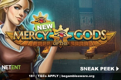 New NetEnt Mercy of The Gods Mobile Slot Coming Soon
