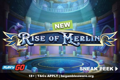 New Play'n GO Rise of Merlin Slot Preview