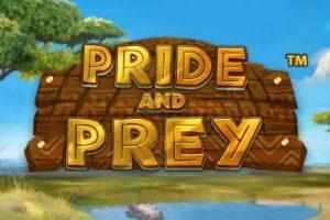 Pride And Prey Mobile Slot Logo