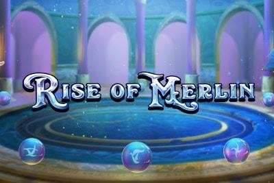 Rise of Merlin Slot Logo