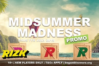 Rizk Casino Midsummer Madness Promotion