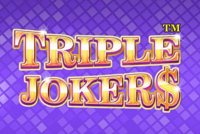 Triple Jokers Mobile Slot Logo
