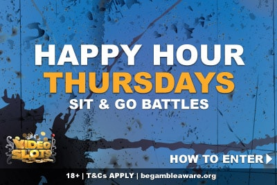 Videoslots Casino Happy Hour Thursdays Battles