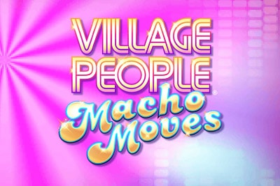 Village People Macho Moves Mobile Slot Logo