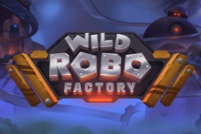 Wild Robo Factory Mobile Slot Logo