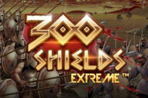 300 Shields Extreme Mobile Slot Logo