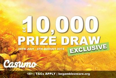 Exclusive Casumo Casino 10K Megaways Prize Draw