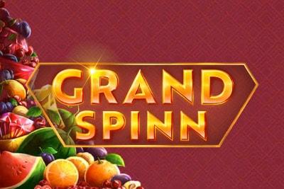 Grand Spinn Mobile Slot Logo