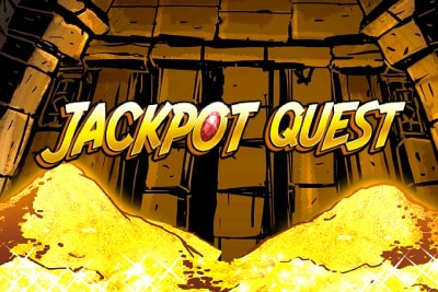 Jackpot Quest Mobile Slot Logo