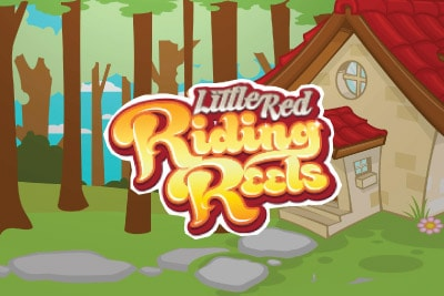Little Red Riding Reels Slot Logo