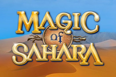 Magic Of Sahara Mobile Slot Logo