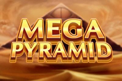 Mega Pyramid Mobile Slot Logo