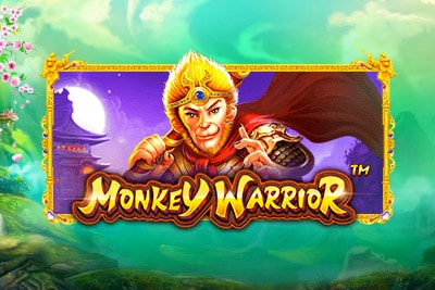 Monkey Warrior Mobile Slot Logo