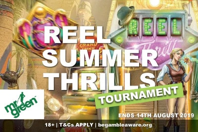 Mr Green Reel Summer Thrills Tournament
