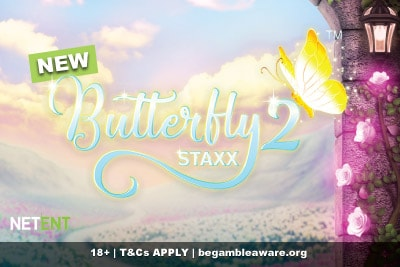 Butterfly Staxx 2 Slot Machine Coming Soon