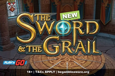 New The Sword And The Grail Mobile Slot Machine