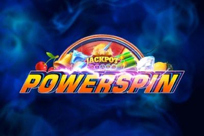 Powerspin Mobile Slot Logo