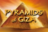 Pyramids of Giza Mobile Slot Logo