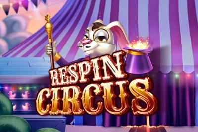 Respin Circus Mobile Slot Logo