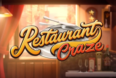 Restaurant Craze Mobile Slot Logo