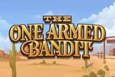 The One Armed Bandit Mobile Slot Logo