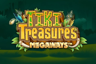 Tiki Treasures Megaways Mobile Slot Logo