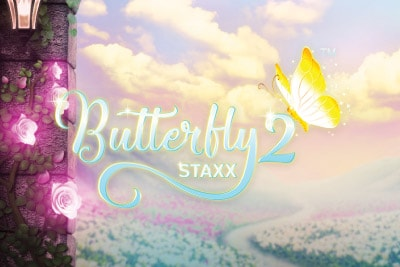 Butterfly Staxx 2 Mobile Slot Logo