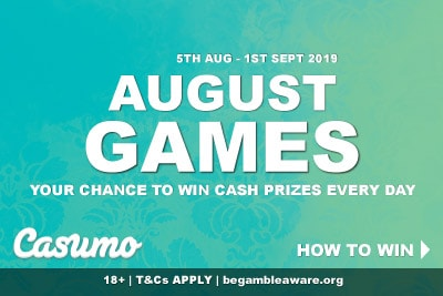 Play In The Casumo Casino August Game Online & Mobile