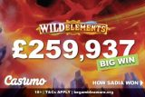 Casumo Casino Player Sadia Wins Big On Wild Elements Slot