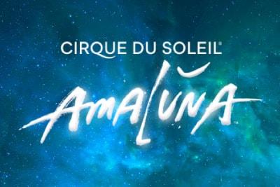 Cirque Du Soleil Amaluna Mobile Slot Logo