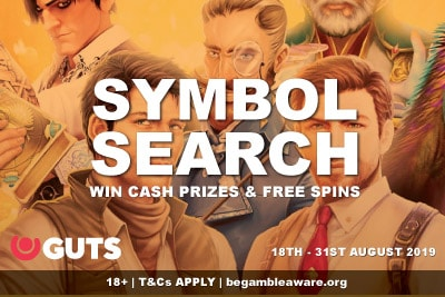 Guts Casino Symbol Search Promo