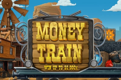 Money Train Mobile Slot Logo