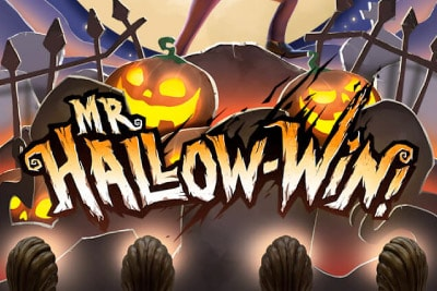 Mr Hallow-Win Mobile Slot Logo