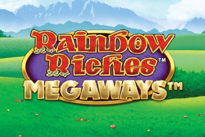 Rainbow Riches Megaways Mobile Slot Logo
