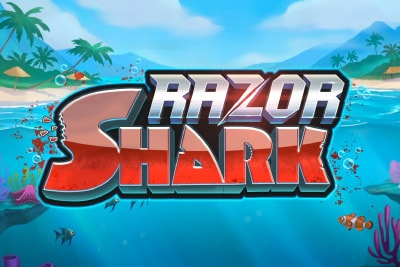 Razor Shark Mobile Slot Logo