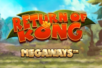 Return of Kong Megaways Mobile Slot Logo