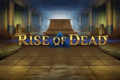 Rise of Dead Mobile Slot Logo