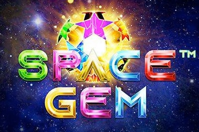 Space Gem Mobile Slot Logo