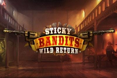 Sticky Bandits Wild Mobile Slot Logo