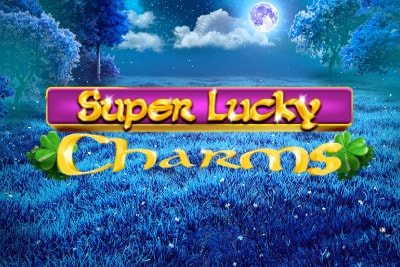 Super Lucky Charms Mobile Slot Logo