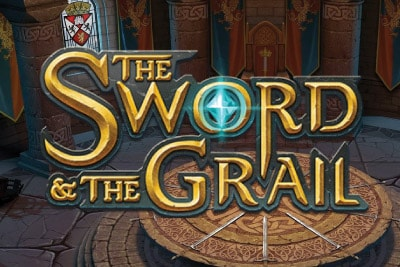 The Sword and the Grail Mobile Slot Logo