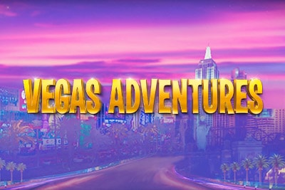 Vegas Adventures Mobile Slot Logo