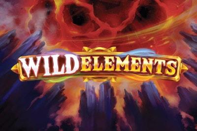 Wild Elements Mobile Slot Logo