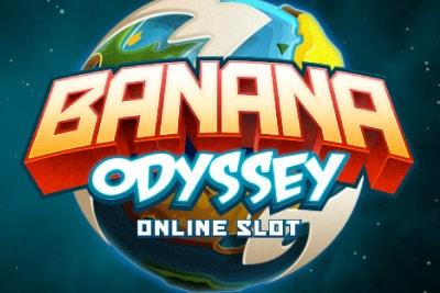 Banana Odyssey Mobile Slot Logo